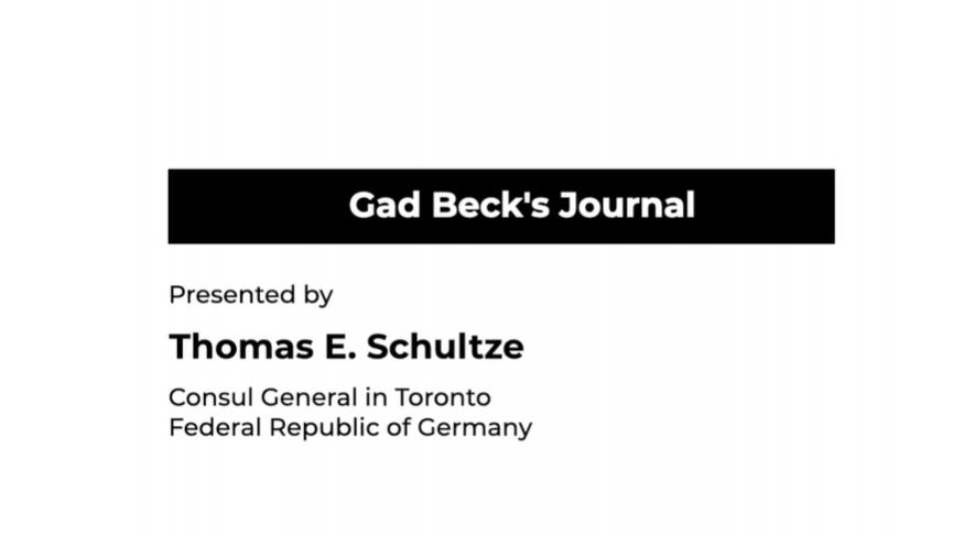 Gad Beck's Memory Book testimonial
