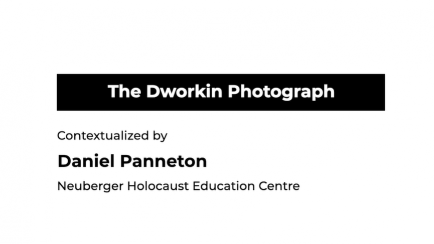 The Dworkin Photograph -Parcels for Poland testimonial