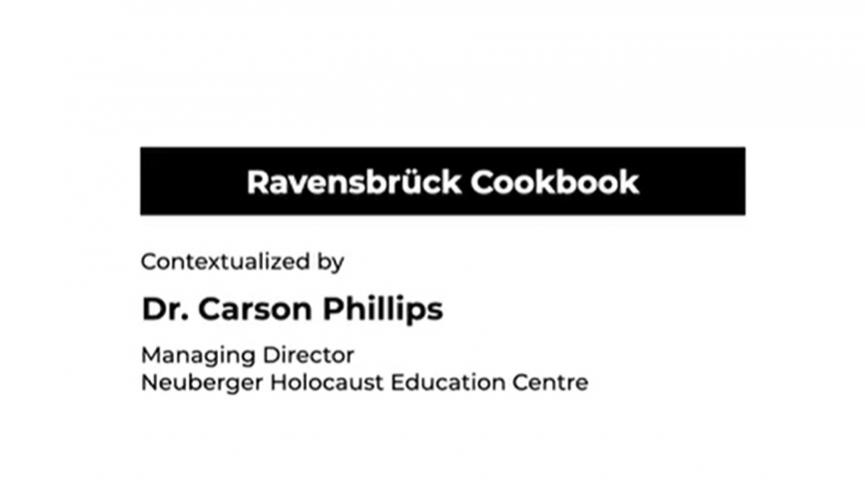 Ravensbrück Recipe Book. testimonial