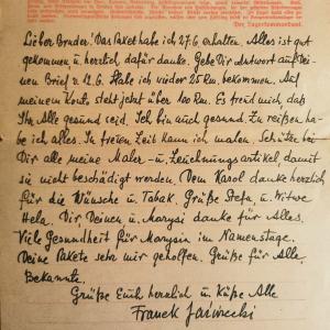 The Sachsenhausen Letter